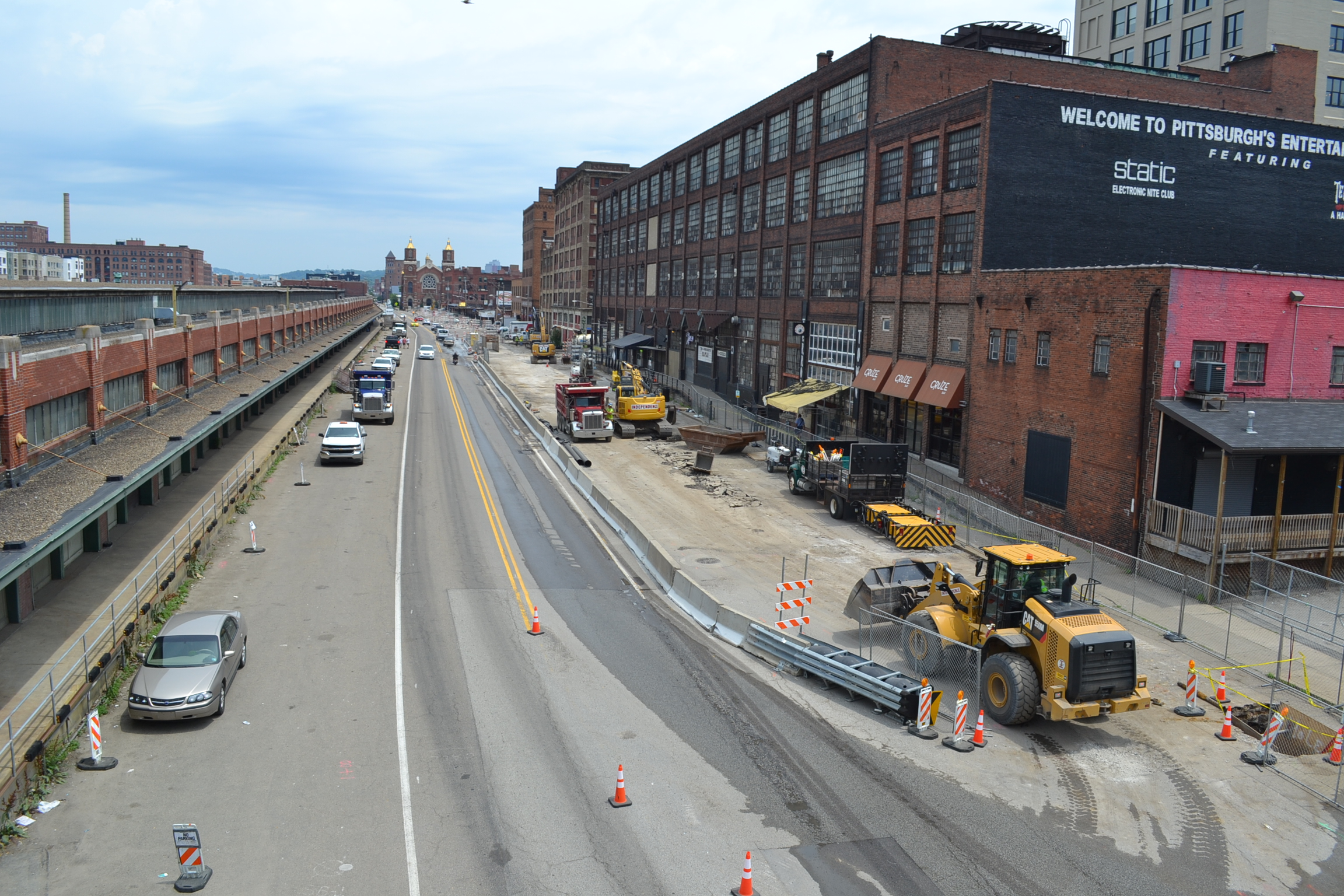 PWSA Smallman Street Reconstruction